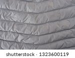 back of mens insulated down...   Shutterstock . vector #1323600119