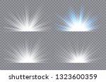light effect stars bursts....   Shutterstock .eps vector #1323600359