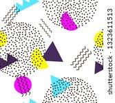 seamless pattern. geometric... | Shutterstock .eps vector #1323611513