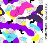 seamless pattern. geometric... | Shutterstock .eps vector #1323611519
