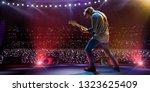 rock star celebrity on the main ... | Shutterstock . vector #1323625409