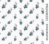 stitching seamless pattern with ... | Shutterstock .eps vector #1323654566