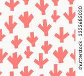 seamless pattern with modern... | Shutterstock .eps vector #1323683030