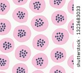 seamless pattern with modern... | Shutterstock .eps vector #1323683033
