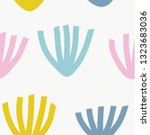 seamless pattern with modern... | Shutterstock .eps vector #1323683036