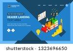 winner business success concept ... | Shutterstock .eps vector #1323696650