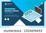 swimming activity sport... | Shutterstock .eps vector #1323696653