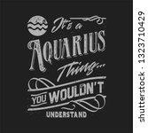 Zodiac Typography T Shirt...