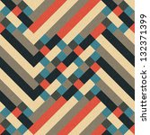 abstract geometric ornament... | Shutterstock . vector #132371399
