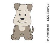hand drawn vector illustration... | Shutterstock .eps vector #1323780923