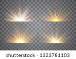 light effect stars bursts....   Shutterstock .eps vector #1323781103