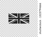 flag of great britain icon... | Shutterstock .eps vector #1323794666