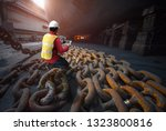 surveyor  inspector  port... | Shutterstock . vector #1323800816