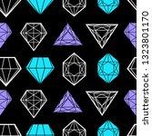 vector seamless pattern from... | Shutterstock .eps vector #1323801170