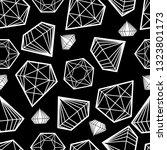 vector seamless pattern from... | Shutterstock .eps vector #1323801173