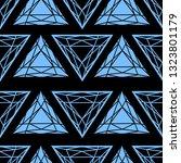 vector seamless pattern from... | Shutterstock .eps vector #1323801179
