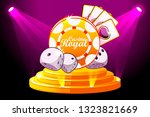 casino royale banner with...
