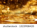 Gold Glitter For Beauty Product ...