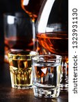 selection of hard alcoholic... | Shutterstock . vector #1323931130