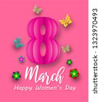 international women's day 8...   Shutterstock .eps vector #1323970493