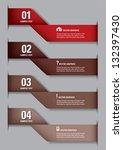 modern options banner. vector...   Shutterstock .eps vector #132397430