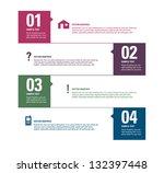 modern vector design template.... | Shutterstock .eps vector #132397448