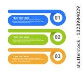 infographic design template... | Shutterstock .eps vector #1323984029