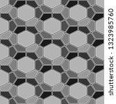 geometrical backdrop. mosaics... | Shutterstock .eps vector #1323985760