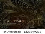 abstract background with curled ... | Shutterstock .eps vector #1323999233