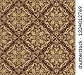 orient vector classic pattern....   Shutterstock .eps vector #1324012769