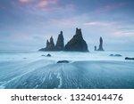 Iceland Reynisdrangar Cliffs O...