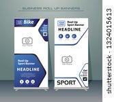 creative roll up business... | Shutterstock .eps vector #1324015613