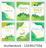 pack of six sale banner... | Shutterstock .eps vector #1324017356