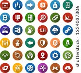 color back flat icon set  ... | Shutterstock .eps vector #1324037306