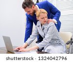 sexual harassment between... | Shutterstock . vector #1324042796