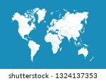 color world map vector | Shutterstock .eps vector #1324137353