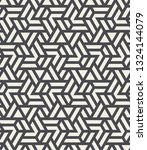 pattern with intersecting... | Shutterstock .eps vector #1324144079