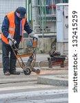 urban worker | Shutterstock . vector #132415259