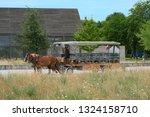 mont saint michel  normandy  ...   Shutterstock . vector #1324158710