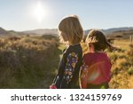 children exploring nature  cabo ... | Shutterstock . vector #1324159769