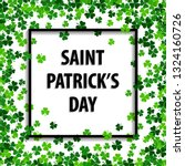 saint patrick's day vector... | Shutterstock .eps vector #1324160726