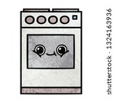 retro grunge texture cartoon of ... | Shutterstock .eps vector #1324163936