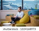 software developer writing... | Shutterstock . vector #1324168973