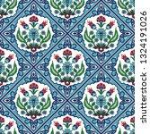 turkish arabic pattern vector... | Shutterstock .eps vector #1324191026