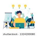vector flat illustration ... | Shutterstock .eps vector #1324200080