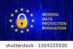 gdpr   european union data... | Shutterstock .eps vector #1324225520