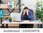 unforgivable mistake. falling... | Shutterstock . vector #1324234976