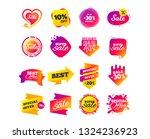 sale banner templates design.... | Shutterstock .eps vector #1324236923