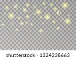 glowing lights for holidays.... | Shutterstock .eps vector #1324238663