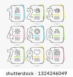infographic template with... | Shutterstock .eps vector #1324246049